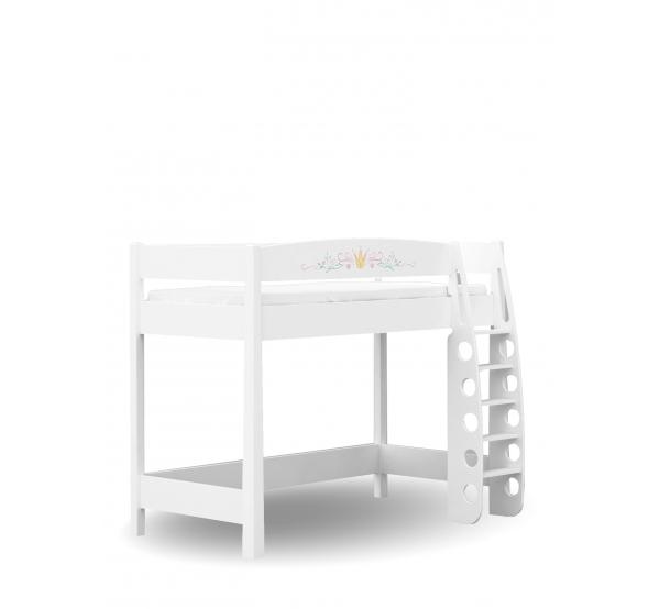 Детская кровать-чердак 90х190 Magic Princess