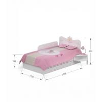 Кровать 120х200 Magic Princess