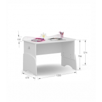Письменный стол UP 120 Magic Princess