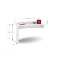 Письменный стол UP 120 Mix Magic Princess