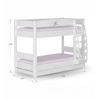 Двухъярусная детская кровать Магнолия