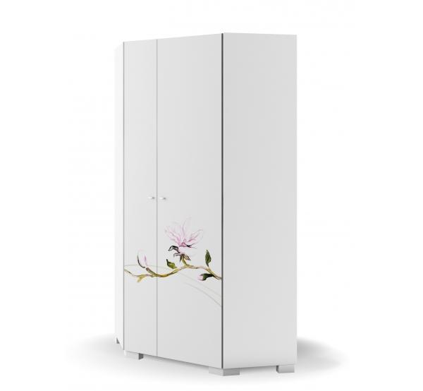 Детский шкаф YO угловой 282 Магнолия