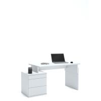 Письменный стол Flex Plus 125 Young White