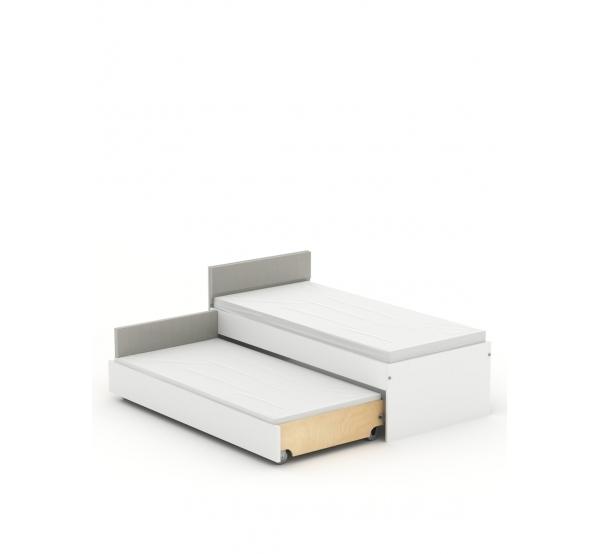 Кровать Double 90-N White Mebli