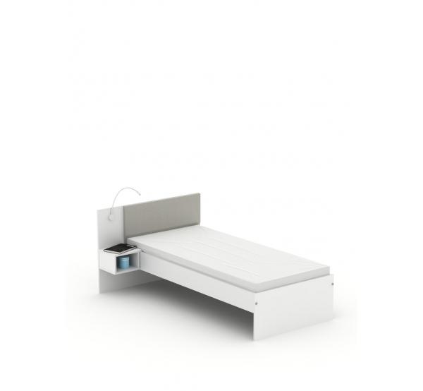 Кровать SN-90 White Meblik