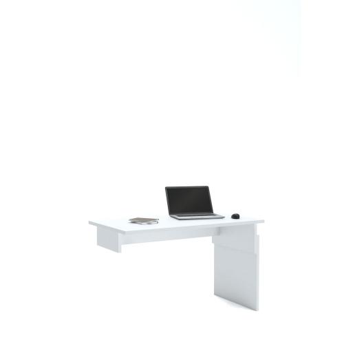 Письменный стол Flex  Plus 140 Young White Meblik