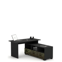 Письменный стол Flex Plus 125 Young Dark Meblik