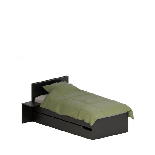 Кровать 120x200 Dark Meblik