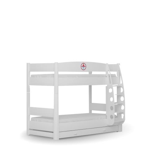 Двухъярусная кровать 90х190 Пират