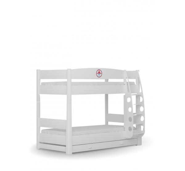 Детская двухъярусная кровать 90х190 Пират