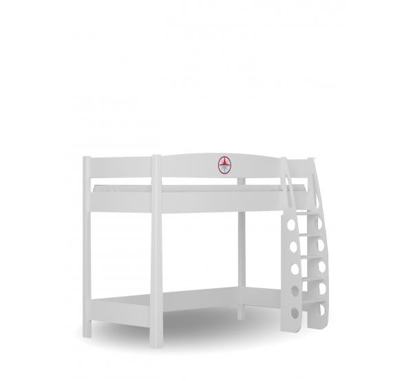 Кровать-чердак 90х190 Пират