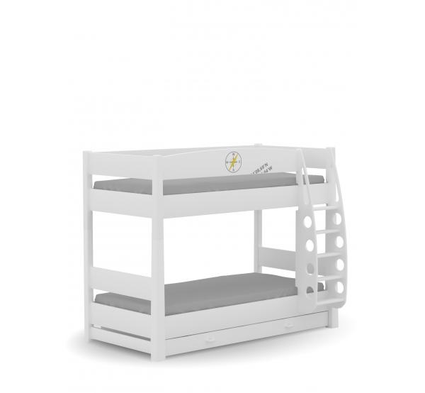 Двухъярусная детская кровать Travel Meblik