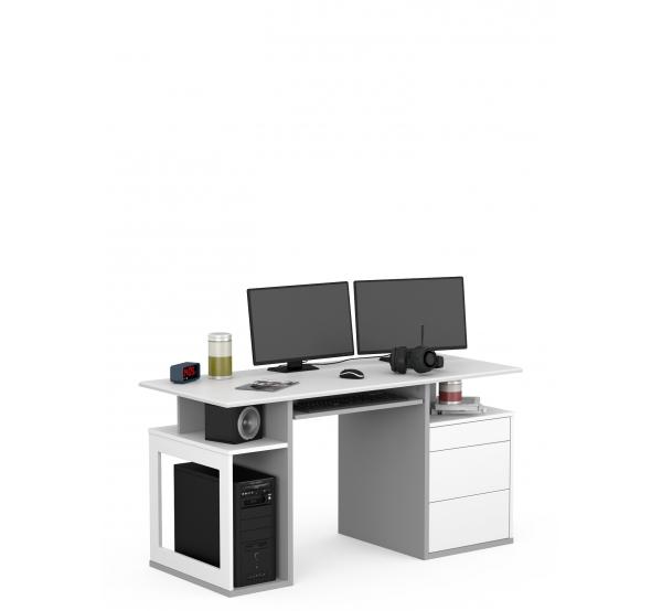 Детский письменный стол Game Box 461 Uni Grey