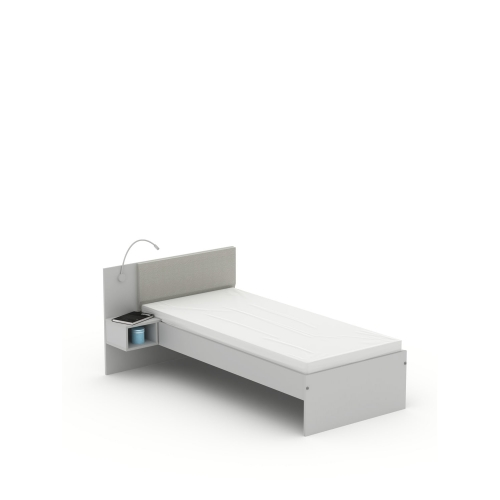 Кровать SN-120 Grey Meblik