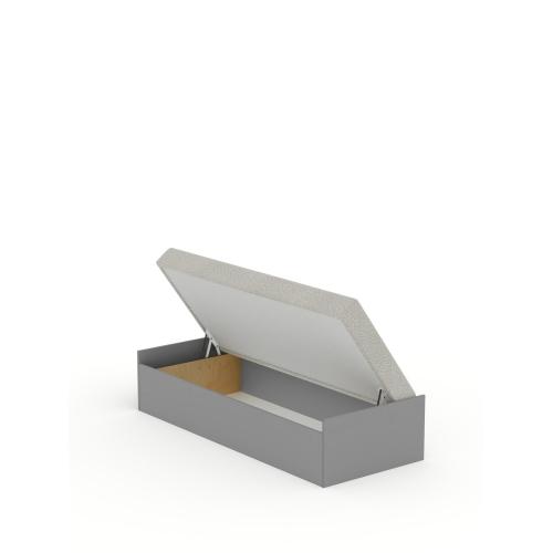 Кровать 90x200 с матрасом Open Grey Meblik