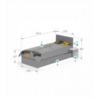 Кровать YO 120x190 X One/X Green