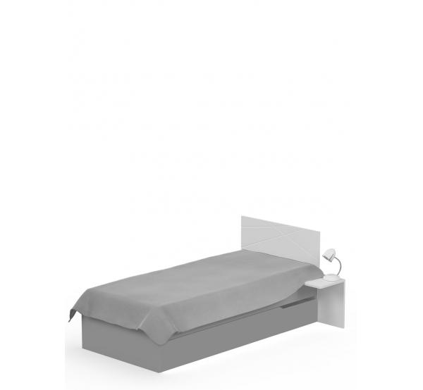 Детская кровать YO 120x190 X One/X Green