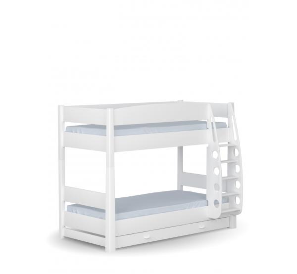 Двухъярусная детская кровать White Meblik