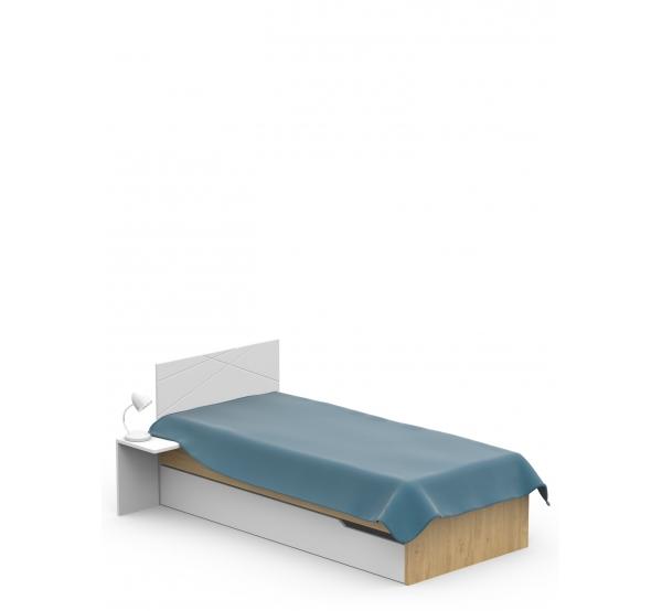 Кровать YO 425 X White/X Oak