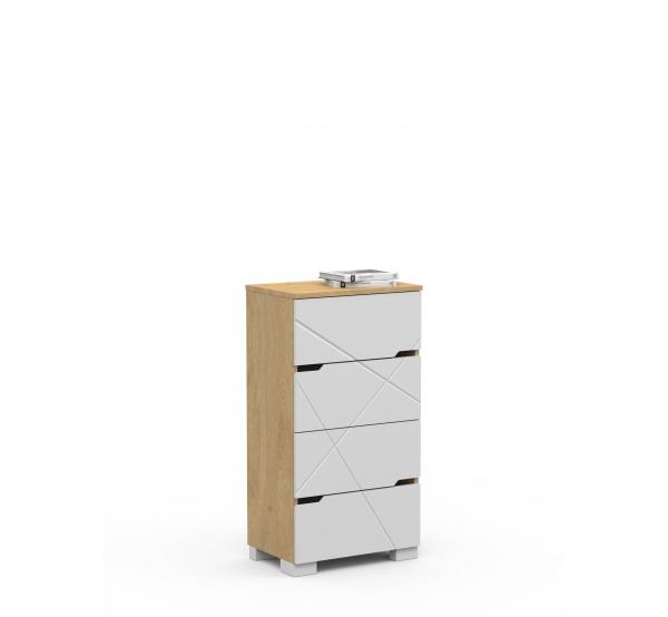 Комод YO 55 X White/X Oak