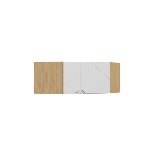 Антресоль 440 углового шкафа YO 282 X White/X Oak