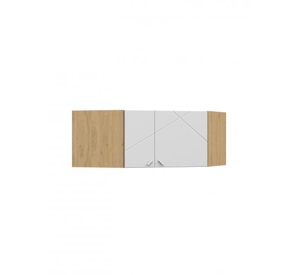 Антресоль углового шкафа YO X White/X Oak Meblik