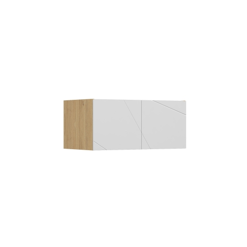 Антресоль к шкафу YO 100 X White/X Oak Meblik