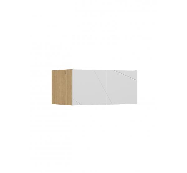 Антресоль 441 к шкафу YO 100 X White/X Oak