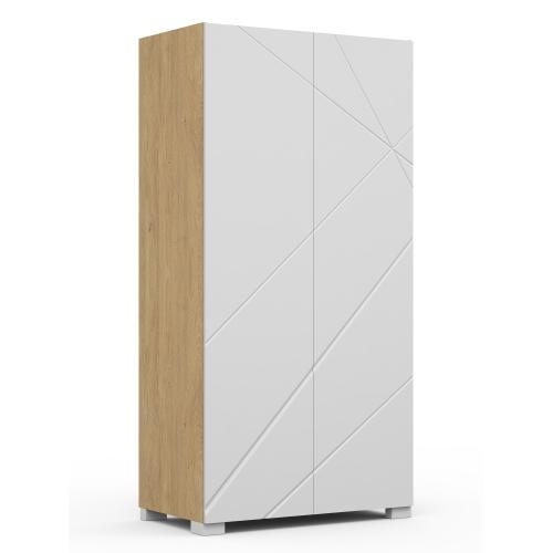 Шкаф YO 100 X White/X Oak
