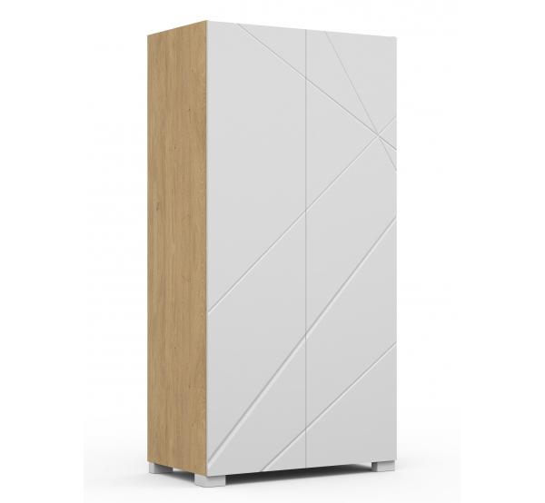 Детский шкаф YO 100 X White/X Oak Meblik