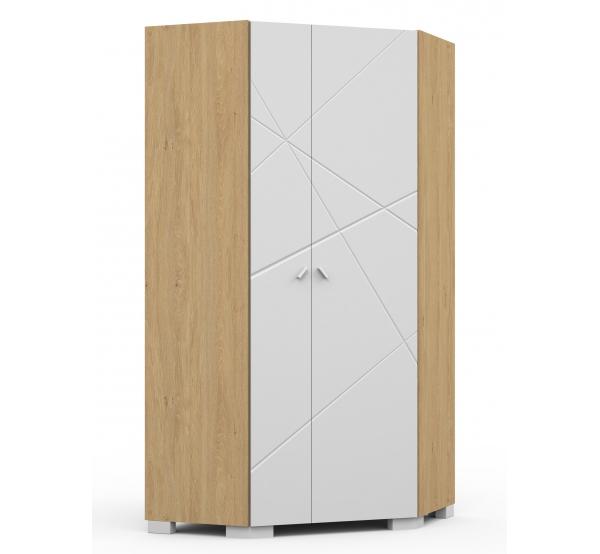 Детский шкаф угловой YO 282 X White/X Oak