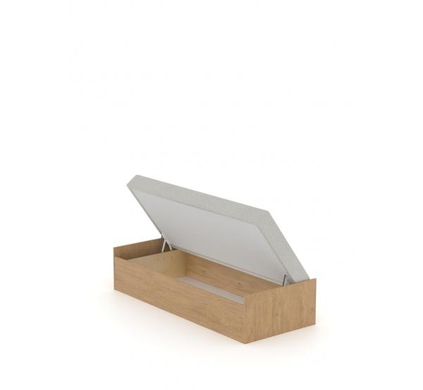 Кровать 90x200 с матрасом Open Oak Meblik