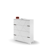 Комод YO 90 X White/X Oak