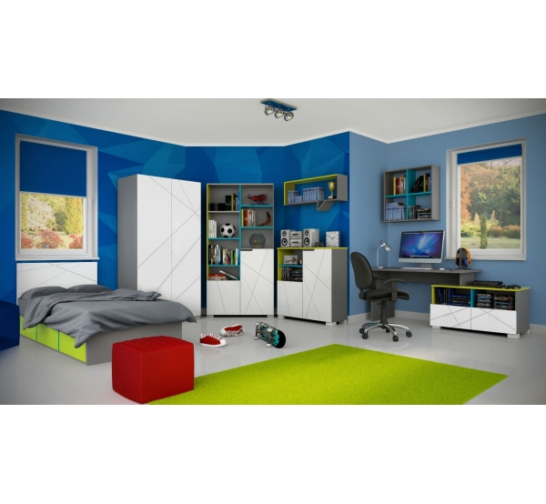 Комната для подростка из серии  X One/X Green 2