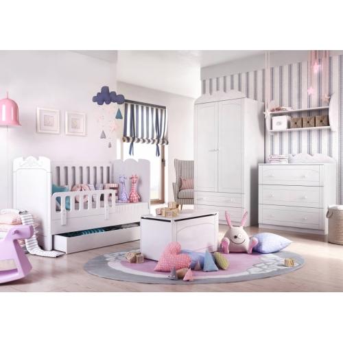 Детская комната для девочки из серии Bianco Fiori 1