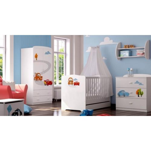 Детская комната для мальчика из серии Cars 3