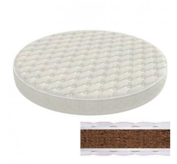 Матрас на кроватку-трансформер круглый/овальный кокос