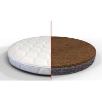 Матрас на кроватку-трансформер круглый/овальный кокос+флексовойлок
