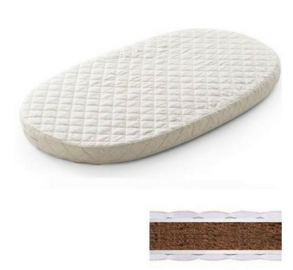 Матрас на кроватку-трансформер овальный кокос