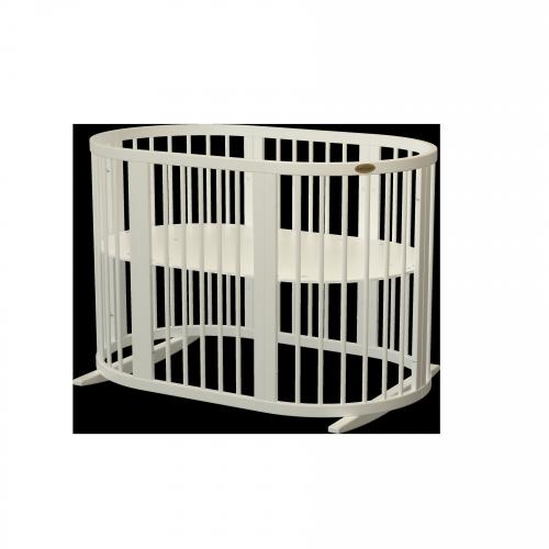 Кроватка для новорожденных круглая/овальная Smart Bed Round