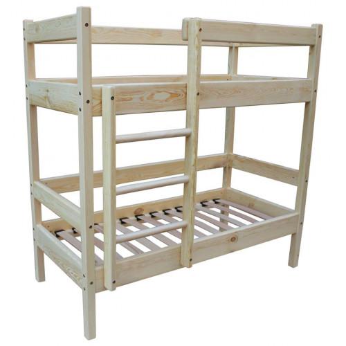 Двухъярусная кровать деревянная Ирель 140х60см