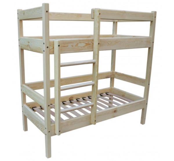 Детская двухъярусная кровать 140х60см