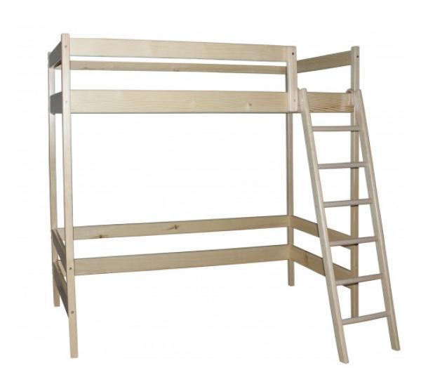 Кровать-чердак Ирель высота - 187см