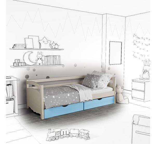 Детская кровать-софа Arina с подъемным механизмом