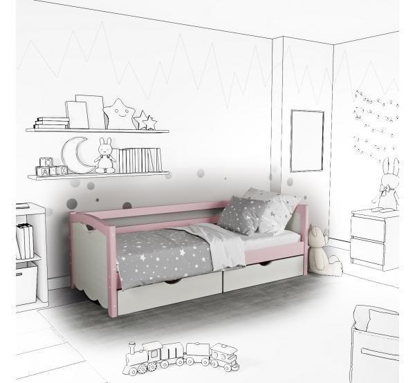 Детская кровать-софа Bella с подъемным механизмом