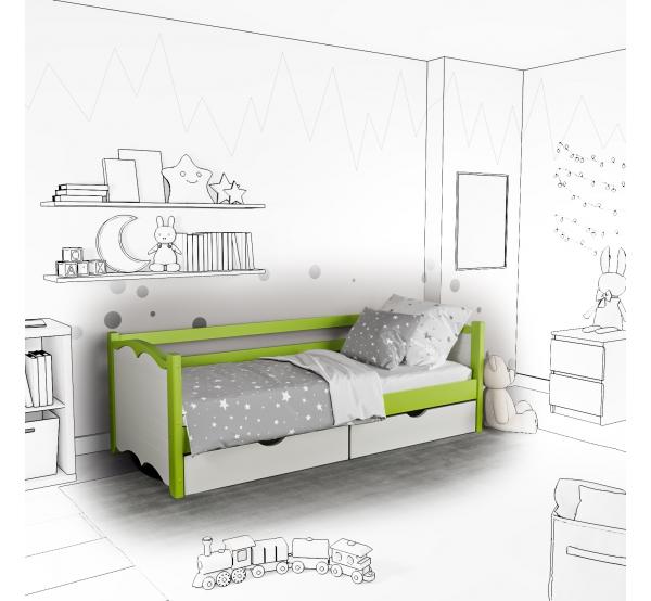 Детская кровать-софа Bonny с подъемным механизмом