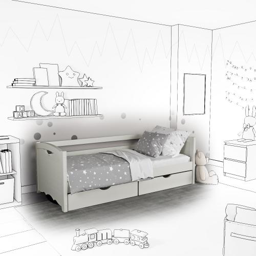 Детская кровать-софа Jenny с ящиками