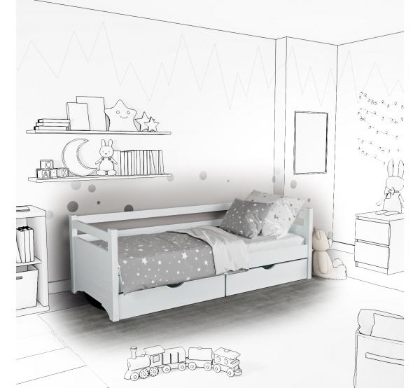 Детская кровать-софа Lui с подъемным механизмом