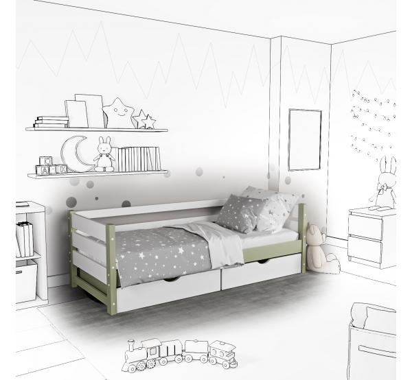 Детская кровать-софа Marta с подъемным механизмом
