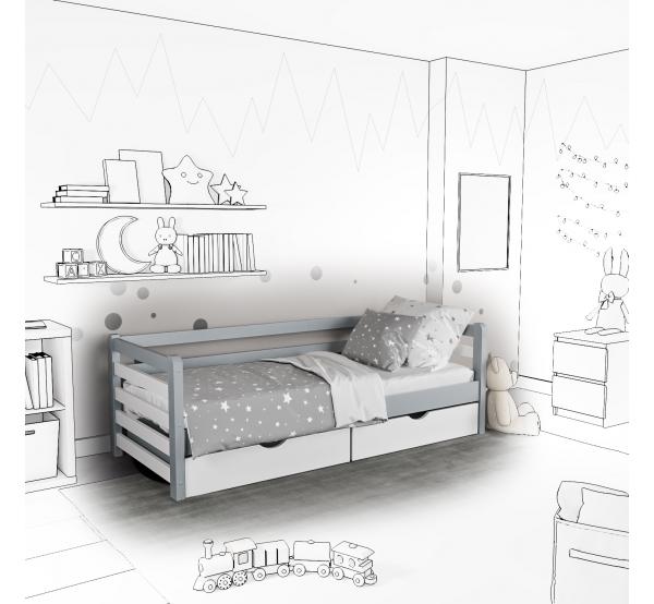 Детская кровать-софа Mia с подъемным механизмом